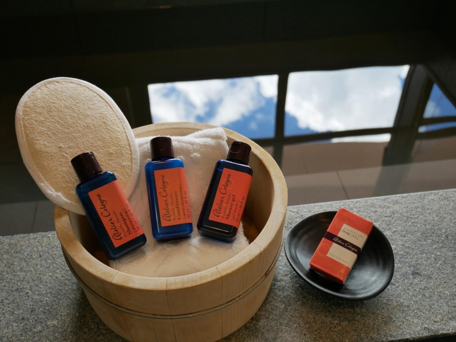 瑞穗天合國際觀光酒店 莊園房型沐浴備品